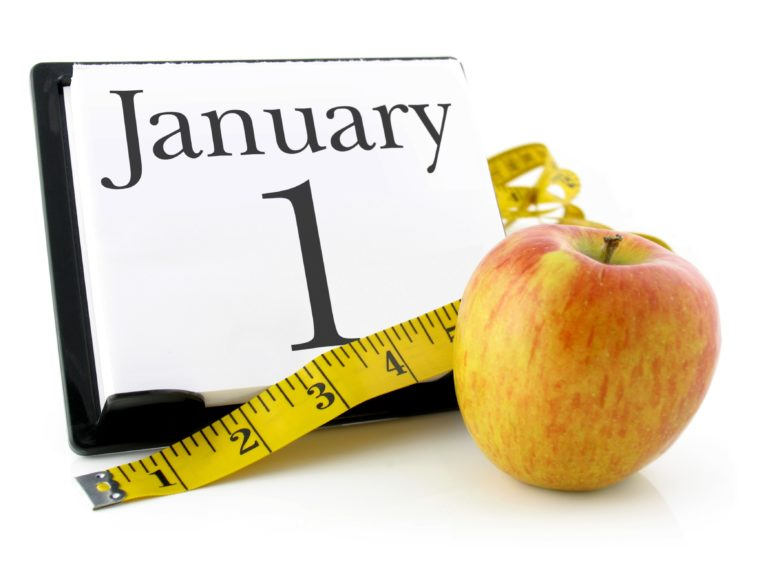 """Novoroční předsevzetí : """"zhubnout a dostat se do formy! – jak u něj vydržet??"""