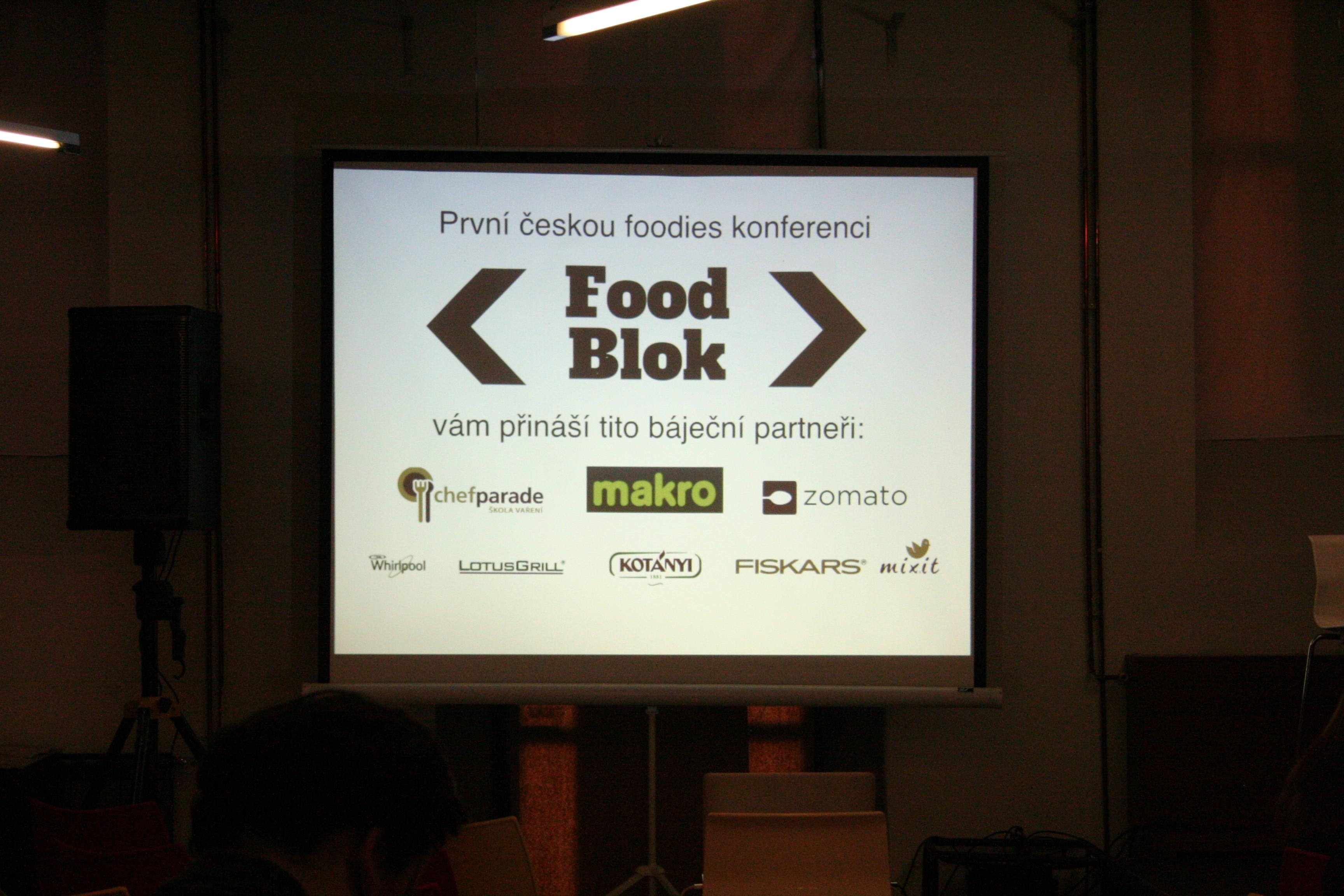 FOOD BLOK 2015 – 1. česká foodies konference