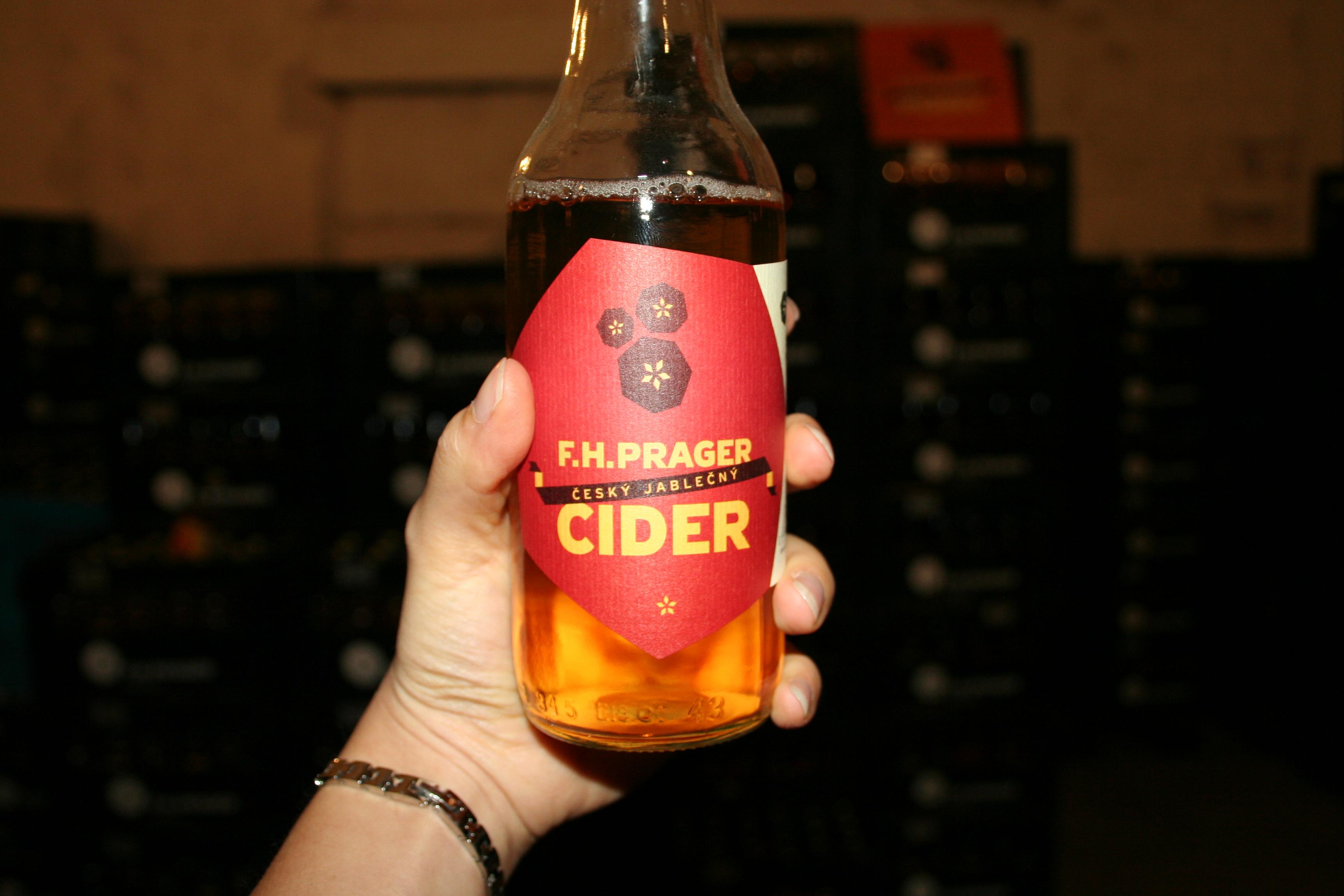 Návštěva F. H. Prager aneb výlet (nejen) za perfektním ciderem