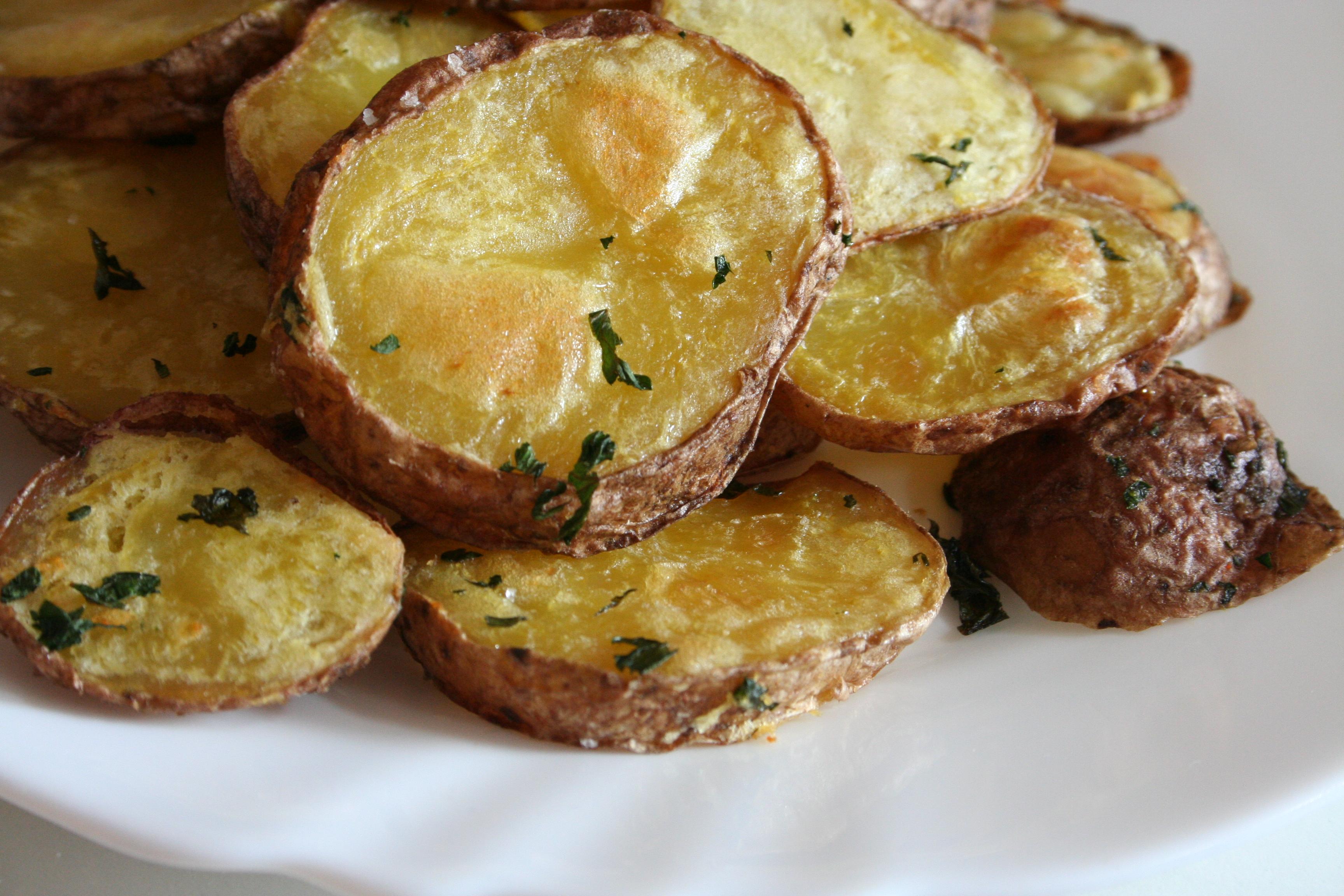 Pečené bramborové plátky