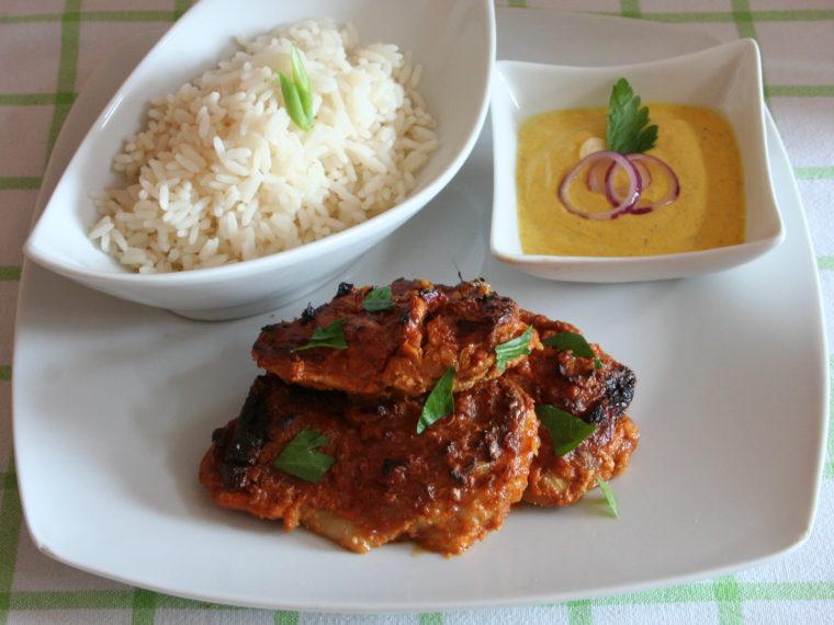 Kuře tandoori