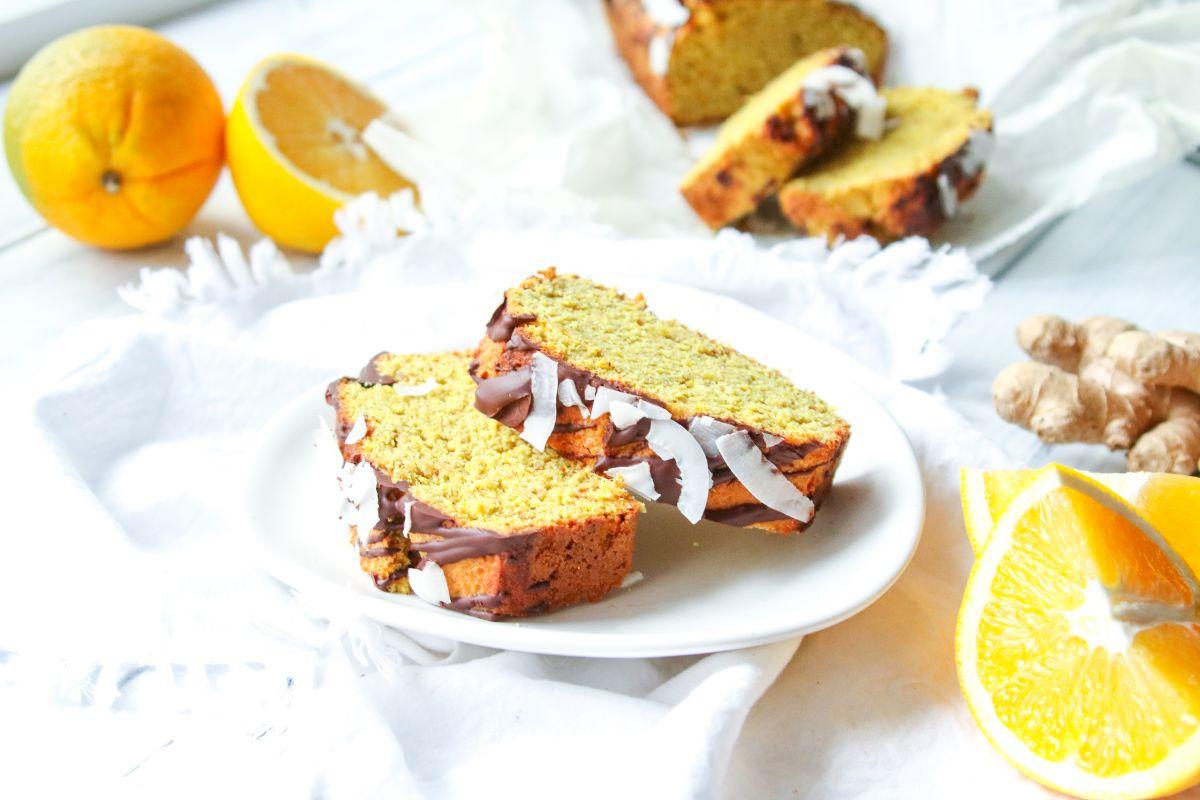 Zázvorový chlebíček s pomerančem