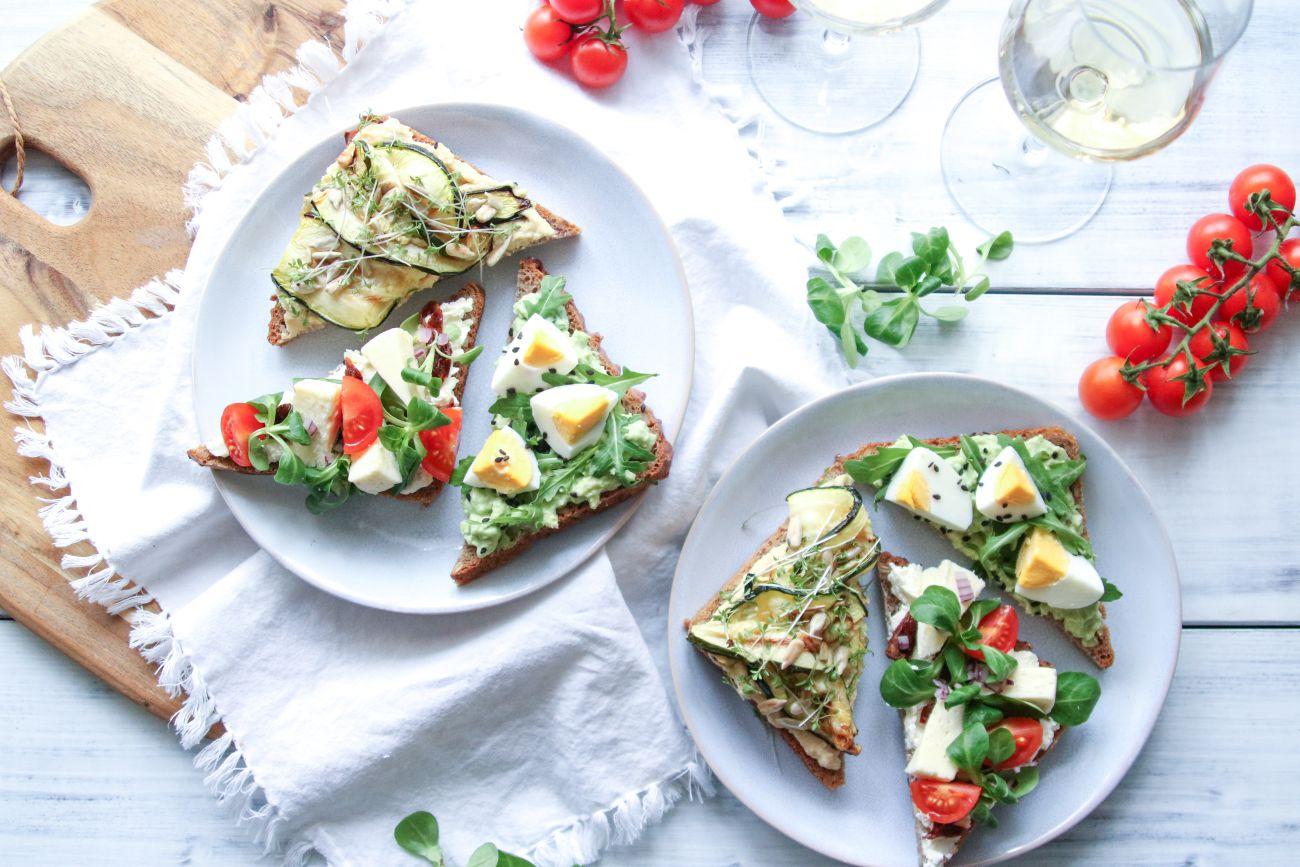 3 tipy na zdravější chlebíčky