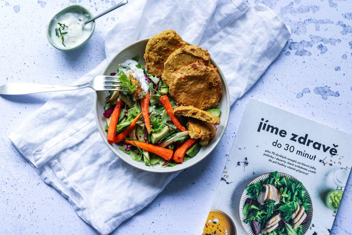 Čočkové karbanátky podle Jíme zdravě do 30 minut